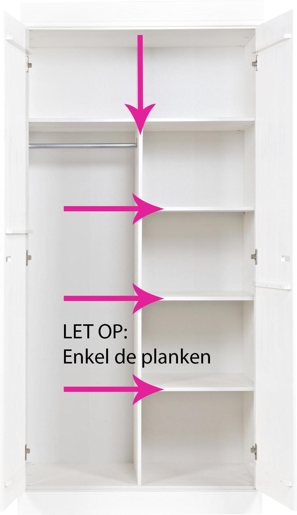 Kast Met Alleen Legplanken.Interieurpakket Connect Geen Kast 3 Planken Woood Lil Nl